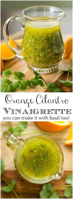 Cilantro Vinaigrette This easy Orange Cilantro Vinaigrette is bursting with fresh flavor will add lots of pizazz to your winter salads. via easy Orange Cilantro Vinaigrette is bursting with fresh flavor will add lots of pizazz to your winter salads. Sauce Recipes, Chicken Recipes, Cooking Recipes, Cooking Ribs, Chicken Dips, Smoker Recipes, Rib Recipes, Cooking Beets, Cooking Turkey