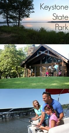 Keystone State Park Near Tulsa Oklahoma Offers Cabins And