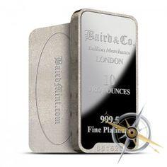 10 oz Baird Platinum Bars