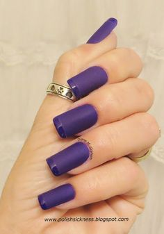 Purple Matte French