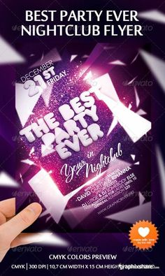 Best Party Ever Nightclub Flyer
