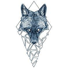 Tatouage temporaire : Black Fox Concept (3 pieces) - ArtWear Tattoo - France