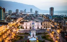Plaza Prat en Iquique. Foto de Freddy Bugueño Tolmo.