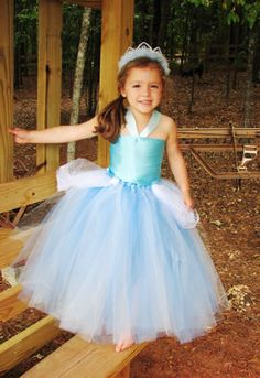 Cinderella Costume ~ cute but maybe a smaller skirt