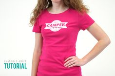 Custom T-shirt Tutorial