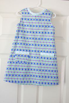 Penelope's Color Me Retro dress by Darci - Stitches