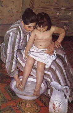 "Mary Cassatt   ""The Bath"""