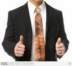 It's all about right tie! OMGosh this is awesome!