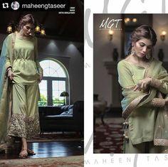 Pakistani Eid ensemble by Maheen Ghani Taseer.