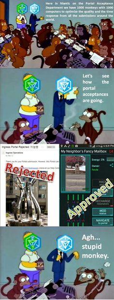 Portal monkeys