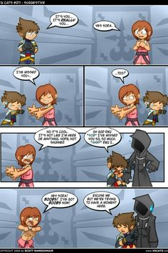 Kingdom Hearts. And that's how it went.