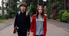 End of the Fxxxing World Trailer Brings Iconic Graphic Novel to Netflix -- Netflix has debuted the first trailer and poster for The End of the F***ing World, based on Charlie Covell's graphic novels. -- http://tvweb.com/end-of-fxxxing-world-trailer-netflix-series/