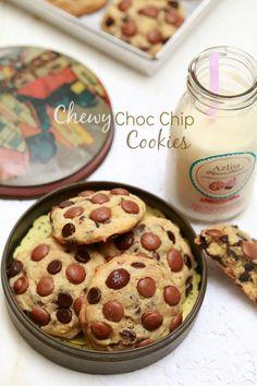 masam manis: Chewy Choc Chip Cookies ala Subway yang sangat sed...