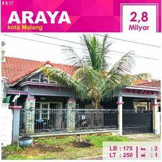 Rumah di Araya kota Malang