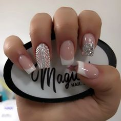 J Nails, Nail Manicure, Cute Nails, Pretty Nails, Almond Nail Art, U2, Nail Spa, Beauty Secrets, Makeup Inspiration