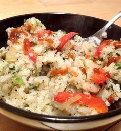 Thai Basil Rice with Shrimp