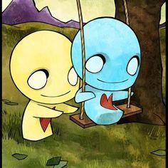 Pon & Zi swinging