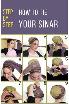 Simple ties for your headgear should make your day flow smoother and start your day off right. Afro, Curly Girl Method, Style Challenge, Beautiful Hijab, Neckerchiefs, How To Wear Scarves, Moda Fashion, Scarf Hairstyles, Belly Dance