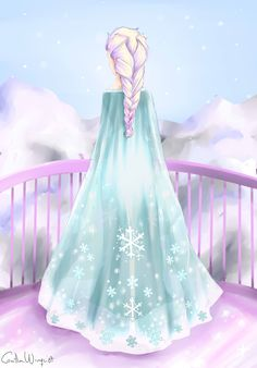 Elsa by CamiiW.deviantart.com on @deviantART