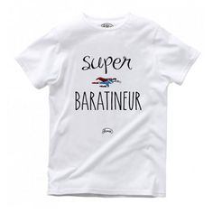 Tee shirt Super baratineur, FABULEUX SHAMAN. Collection enfant