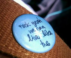 Jack's Mannequin pin. such happy memories.
