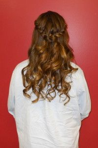 Formal braid, pulled back and curls