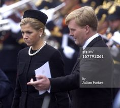 TheFuneral Of His Royal Highness Prince Claus Of The Netherlands.