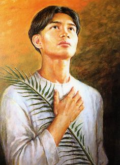 Saint Pedro Calungsod is a Filipino teen catechist who, along with Blessed Diego Luis de San Vitores, suffered religious persecution and killed in Guam for their missionary work in 1672. Calungsod was speared through the chest, and his skull was hacked through by a cutlass. Both Calungsod's and Father Diego's bodies were dragged into the shore and thrown into the sea. St. Calungsod's martyrdom captured the imagination of admirers, but it was his intercession that made the Vatican take notice...