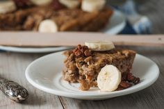 Thanks to our Baked Banana Oatmeal recipe, you can have a filling, balanced breakfast in no time at all!