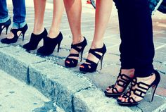 Keep you head, heels, and standards high