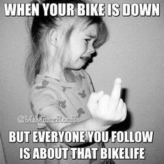 Life gets hard sometimes!  Bike life, bikers, quotes, motorcycle repairs