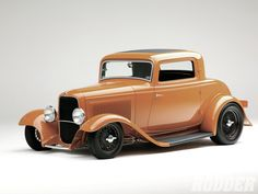 Check out the Goodguys Street Rod of the Year which is Phil Becker's 1932 Ford Coupe - Street Rodder Magazine Custom Muscle Cars, Custom Cars, Classic Hot Rod, Classic Cars, F100, Old Vintage Cars, Hot Rod Trucks, Us Cars, Hot Rods