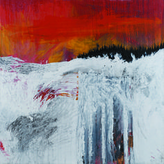Stanley Donwood Residential Nemesis 168x168cm Acrylic on canvas 1999