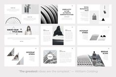 Sphere Minimal Powerpoint Template by SlidePro on @creativemarket