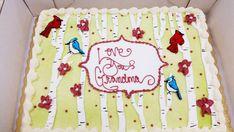 Love You Grandma Cake! ❤️ Grandma Cake, Custom Cakes, Cake Decorating, Birthdays, Birthday Cake, Party, Desserts, Personalized Cakes, Anniversaries