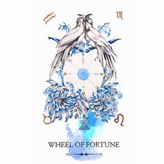 The Wheel of Fortune - Linestrider tarot
