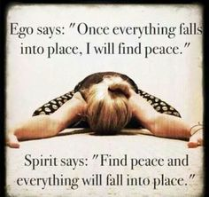 Ego vs spirit #quotes