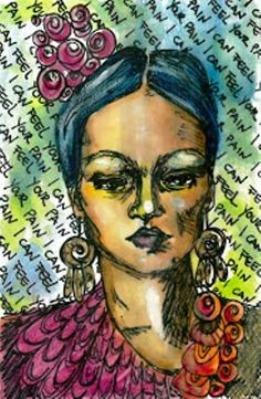 Fafù Factory: Mail art exibition Frida Kahlo a woman in the futu...