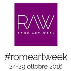 Rome Art Week 2016 A Roma  Data: 24.10.16 - 29.10.16. Luogo: In tutta Roma, Italia.  La prima edizione di Rome Art Week 2016 (RAW in breve) è un progetto innovativo che coinvolge l'intera città di Roma attraverso diversi eventi in gallerie e studi d'arte professionale. E' stato creato per dare un nuovo impulso allo sviluppo dell'arte contemporanea.