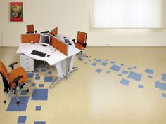 The name linoleum is a mixture of 'lin' and 'oleum' which means linseed and oil.
