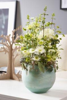 JustChrys - Inspiration: surprising chrysanthemum arrangements! End of winter, spring begins!