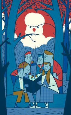 We all float down here Art Print by Ale Giorgini | Society6