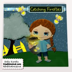 Freebie!     Are you looking for a cute set to create cards, tags, pages, wrappers (or any paper crafts) with? Here is catching #Firefly's.. my #Freebie Friday Give away, Everything in the preview is included along with 4 #WPC files for cutting with the #Gazelle. :) Enjoy, and personal use only, please. ~Bella