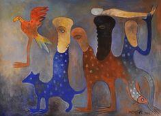 Chile Quencule | 2013 | Acrílico sobre lienzo | 43 x 55 cm.
