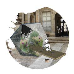 Ephemeral festival of Montpellier - Contest phase - Sandy MOREAU/90° Architecture