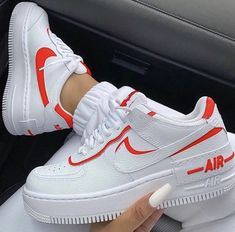 Nike Airforce Shadow For only € -Orders: Information . Nike Airforce Shadow For only € Sneakers Fashion, Fashion Shoes, Shoes Sneakers, Nike Women Sneakers, Cute Sneakers For Women, Af1 Shoes, Girls Sneakers, Best Sneakers, Leather Sneakers