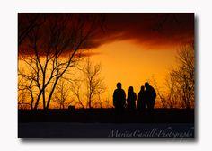 Setting Sun on Cherokee Park, St. Paul, MN by Marina Castillo Photography