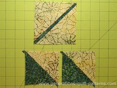 An Autumn Leaf Quilt Block is much easier to make than it looks. Simple connector corners and dash of paper piecing for perfect angles. Voila! You're done!