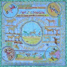luxury-scarves.com 'Chevaux de France', Philippe Dumas. 2007/08