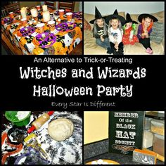 An alternative to trick-or-treating, A Witches and Wizards Halloween Party
